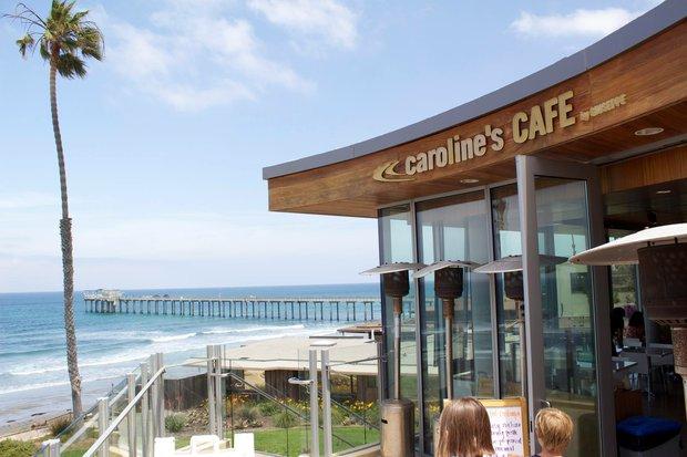 Caroline's Seaside Cafe Location